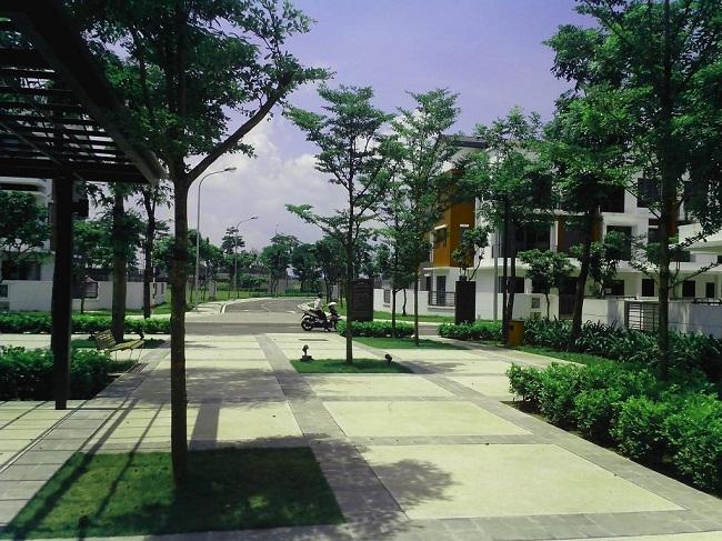 quần thể xanh gamuda gardens