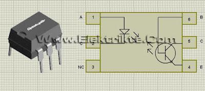 optokuplör iç yapısı