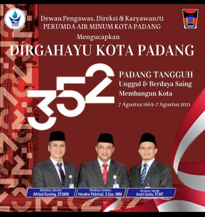 HUT Kota Padang ke 352
