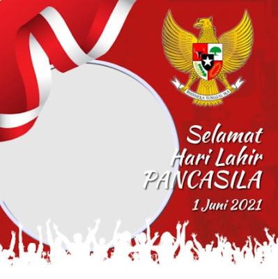Twibbon Hari Lahir Pancasila 2021 Keren