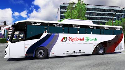 New Sks E138i Scania k360 Bus 2021