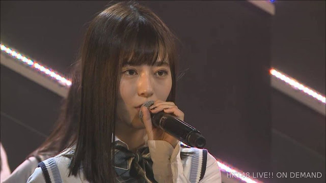 Tsukiashi Amane HKT48 announced graduation performance