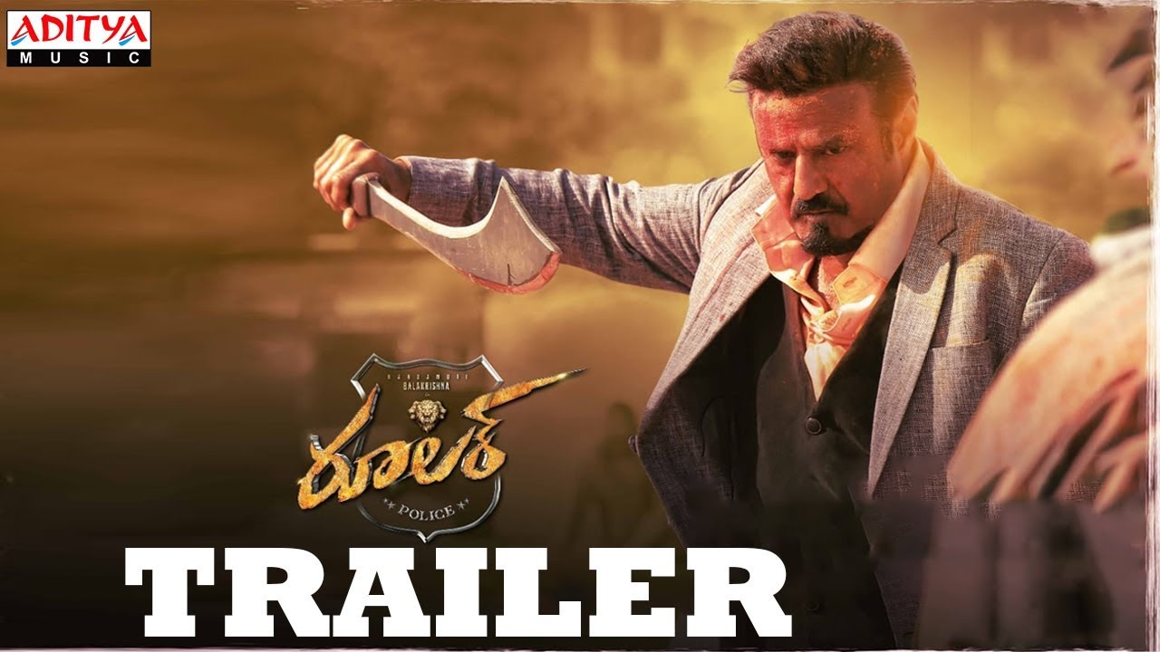 Ruler Trailer Balakrishna in Two Variations