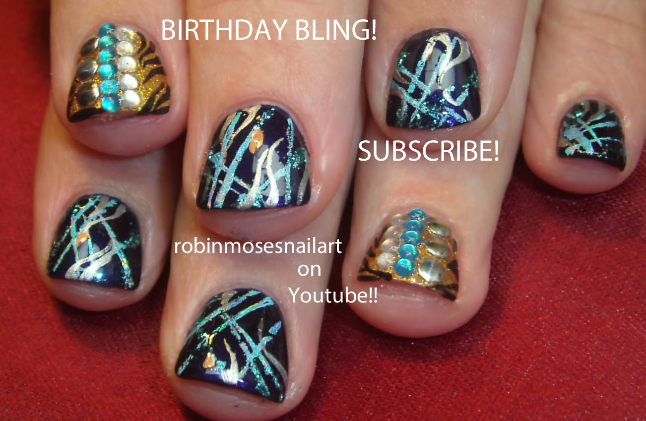 Birthday Nail Art Easy - NailArts Ideas