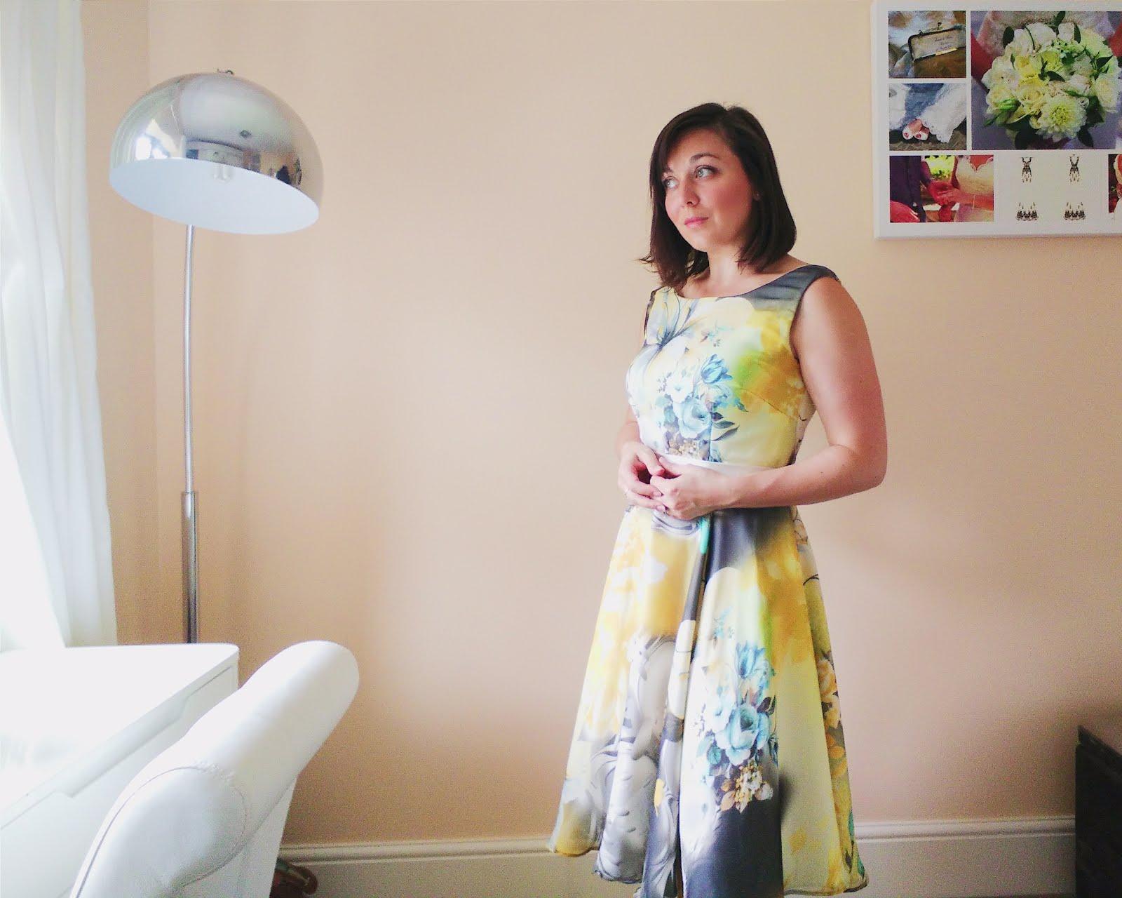 Sew Over It Betty Dress in silk chiffon