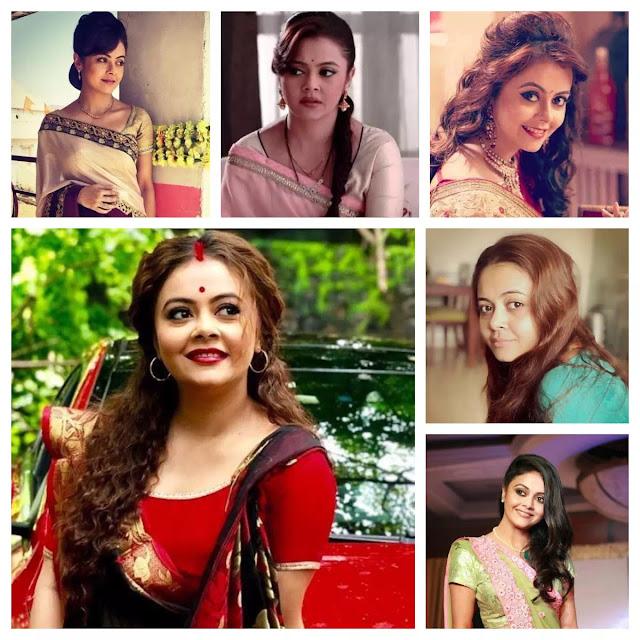 Devoleena Bhattacharjee Hairstyles