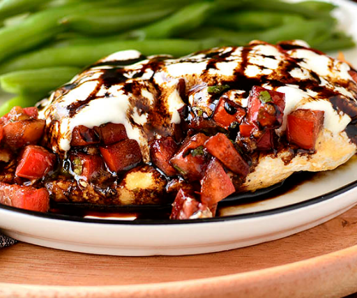 Mozzarella Bruschetta Chicken