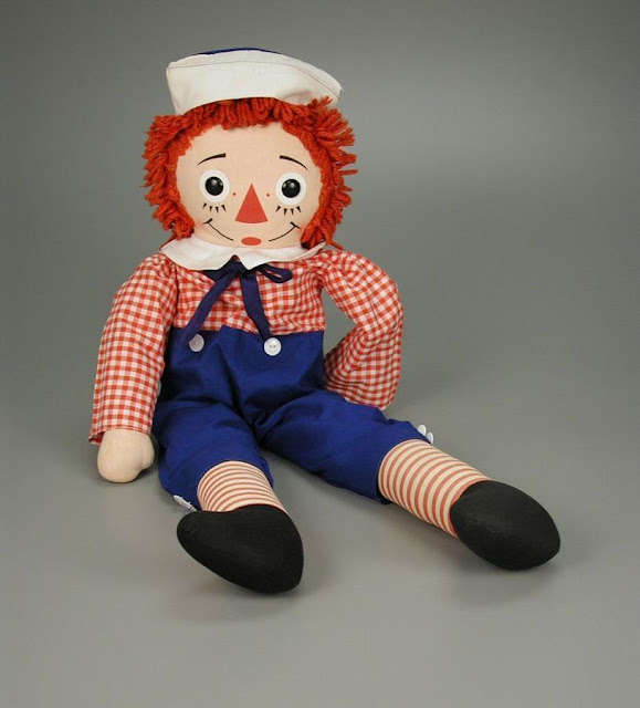 Harris Sisters GirlTalk: Raggedy Andy Doll