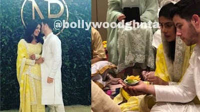first picture of Priyanka Chopra and Nick Jonas from their Roka Is here