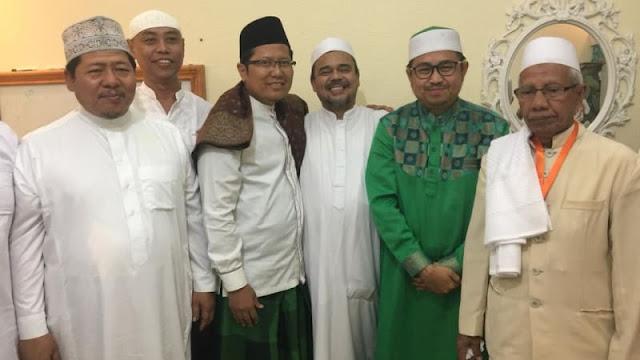 Ma'ruf Amin Kirim Utusan Temui HRS untuk Ajak Pulang ke RI