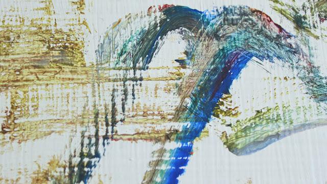 Kolmevuotiaan lapsen ensimmäisestä taidenäyttelystä - From the three year old child's first art exhibition