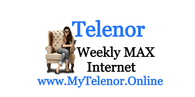 Telenor Weekly Internet Max