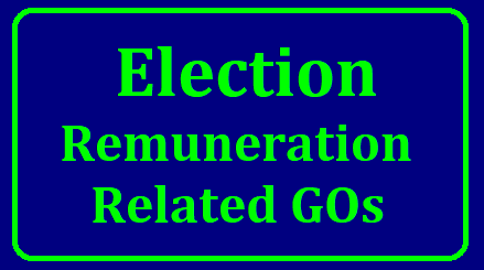 Telangana Election Remuneration Related GO MS 60 and 150 Download Here Remuneration to be paid to the Election Personnels as per GO No 60 which is issued in RPS 2015. Incase of any accidental cases ex-gratia to be paid to election polling staff. General Elections in Telangana to the Legislative Assembly 2018 to held on 07.12.2018 Remunerations to the Election Personnels Financial Autherisation. TA DA Concessions Details and Related GOs here Download. Election Remunerations will be paid as per the GO MS No 60 Dated 02.05.2015 to the Election Personnels i.e Rout Officers, Presiding Officers Assistant Presiding Officers Other Polling Officers. Payment of Ex-gratia compensation to the families of Personnels engaged in Election related work and die/ sustain injuries while on election duty Vide GO MS No 150 Dated 13.11.2014 telangana-general-election-remuneration-ex-gratia-compensation-ta-da-payment-related-go-60-150-download/2018/12/telangana-election-remuneration-related-GOs-download.html