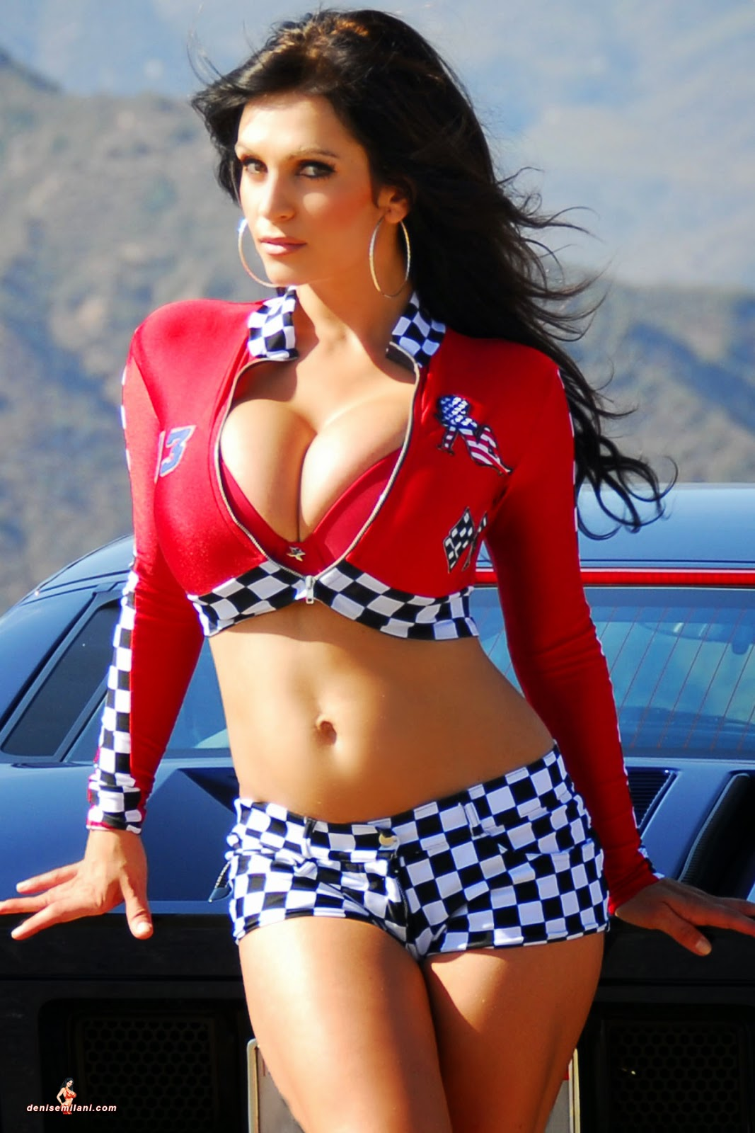 Big tits rally racing - 1 5