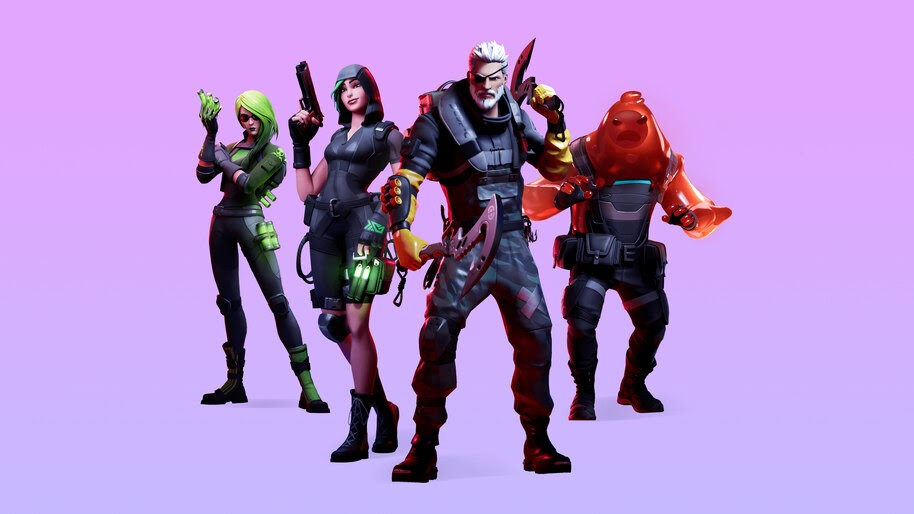 Fortnite Chapter 2 Season 1 Battle Pass Skins 4k Wallpaper