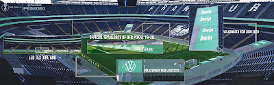 PES 2020 Stadium Commerzbank-Arena DFB Pokal Edition