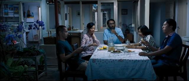 makan malam di film sebelum pagi terulang kembali 2014