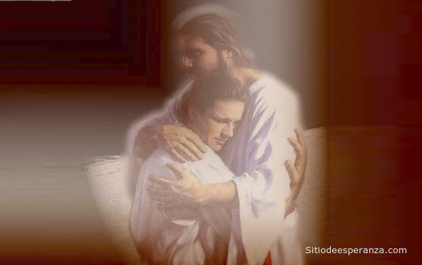 Jesús perdonando