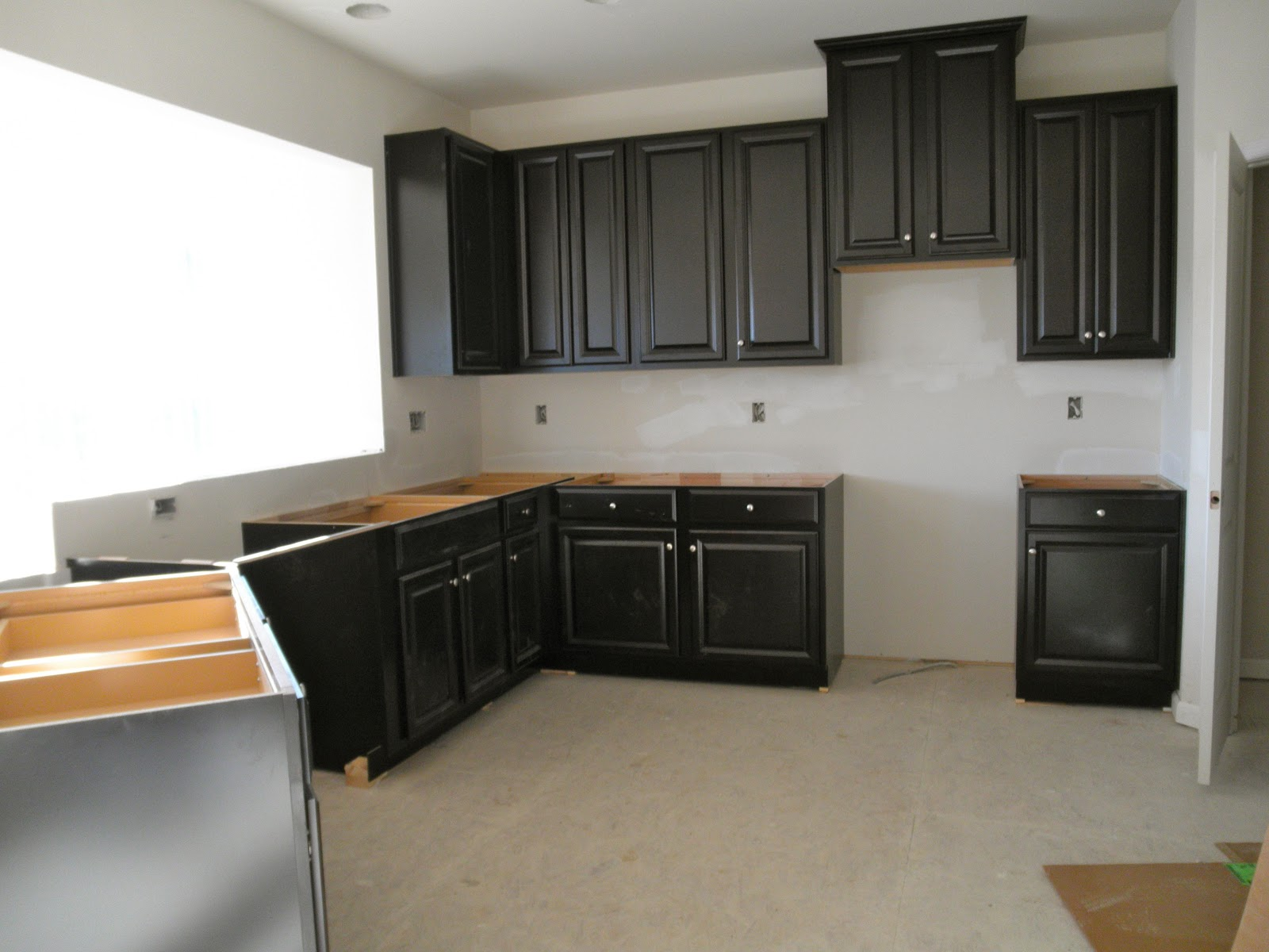Dreaming Of A Ryan Homes Florence Cabinets And A Mistake