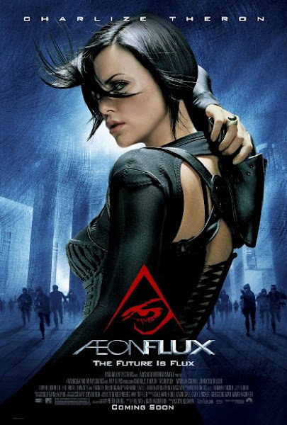 Aeon Flux 2005 720p Hindi BRRip Dual Audio Full Movie Download extramovies.in Æon Flux 2005