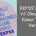 EKPSS'nin Her Yıl Olması İçin Kanun Teklifi Verildi