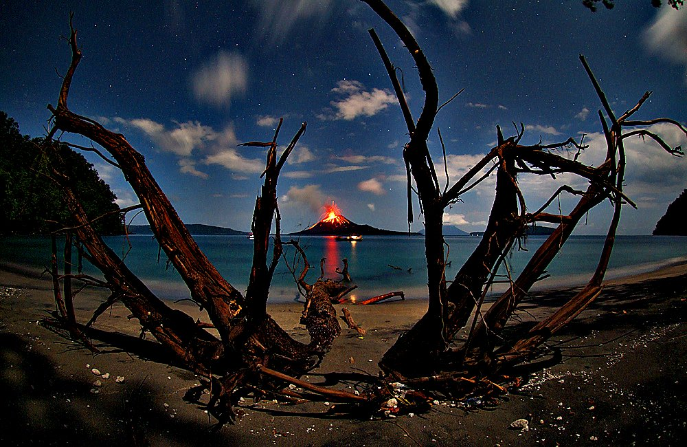 Anak Krakatau Eruption