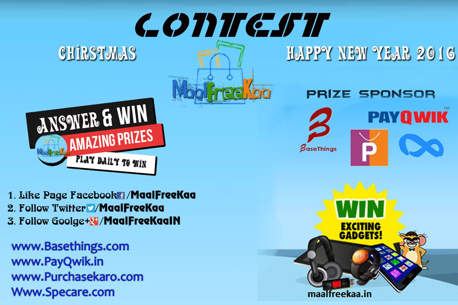 Interesting contests for the New Year 89
