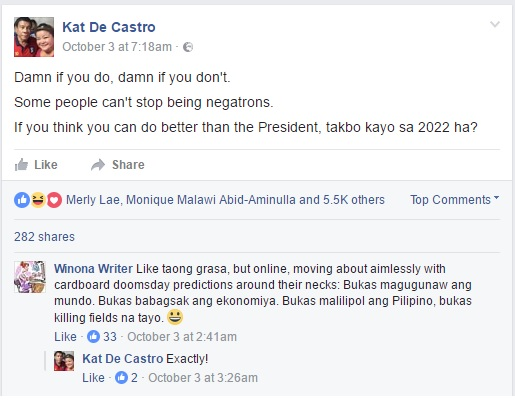 Tourism Undersecretary Bursts Out On Duterte Critics: 'If you think you can do better than the President, takbo kayo sa 2022 ha?'