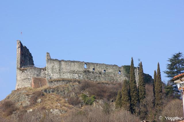 I resti del Castello di Avigliana