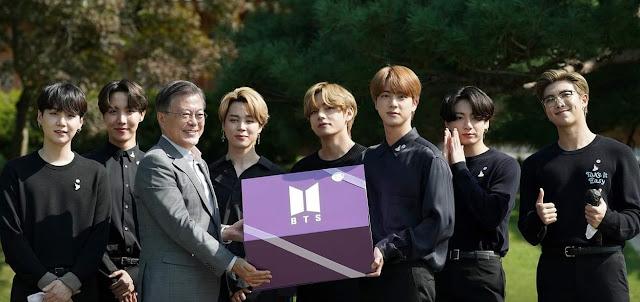 BTS South Korea's Pride Receives Diplomatic Passport