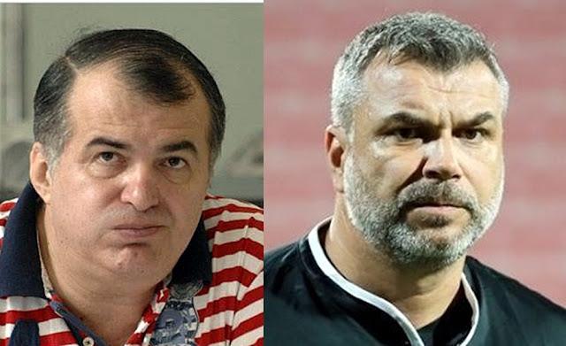 Florin Calinescu was beaten by Cosmin Olaroiu in a restaurant in Bucharest