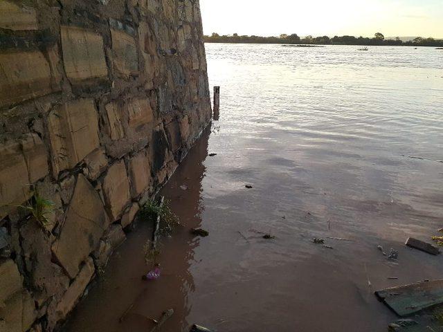 Nível do Rio São Francisco volta a subir em Carinhanha-BA