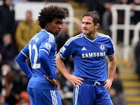 Lampard Fears Chelsea Lost Willian