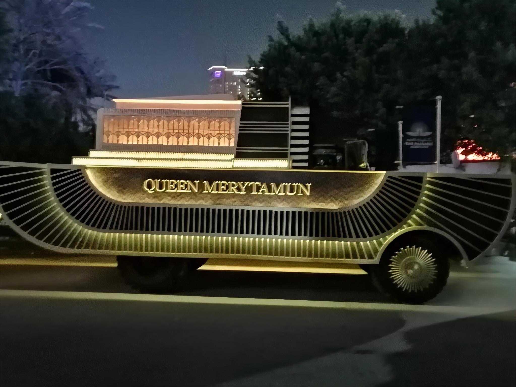 Golden Pharaoh Parade in Cairo as pharaonic chariots roll
