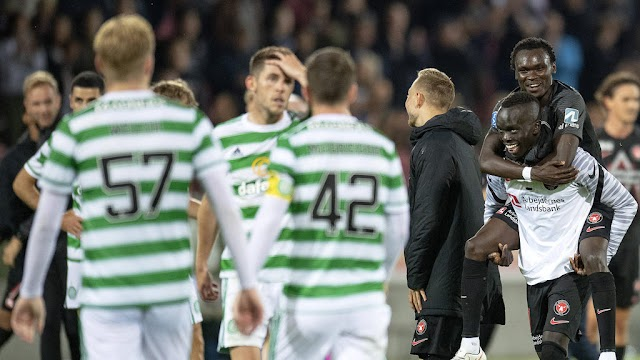 Scotish club Celtic lost out of the early qualifying stage of the Champions League