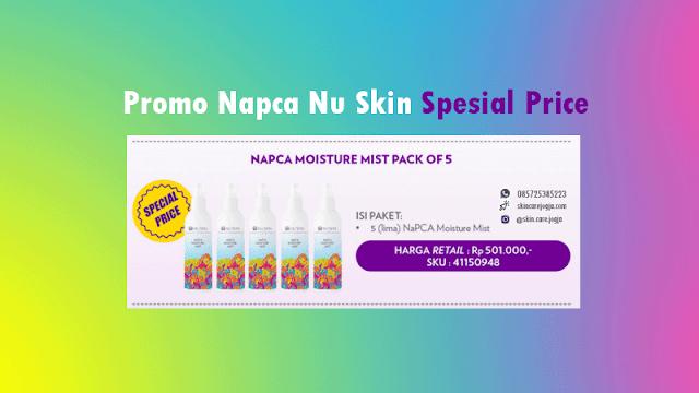 Promo Nu Skin Napca Harga Spesial Oktober 2020