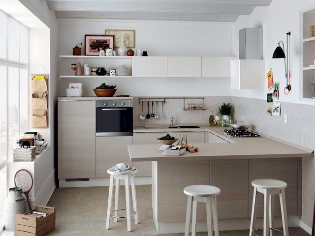 Mẫu nhà bếp nhỏ đẹp cực tiện nghi cho chung cư