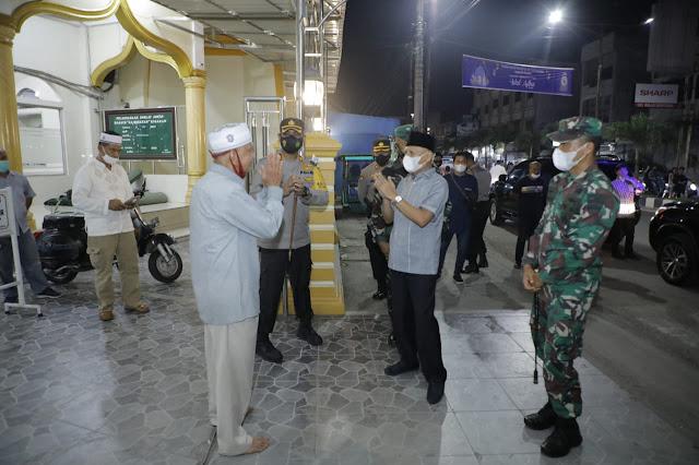 Patuhi Prokes, Malam Idul Adha di Kabupaten Asahan berjalan Kondusif