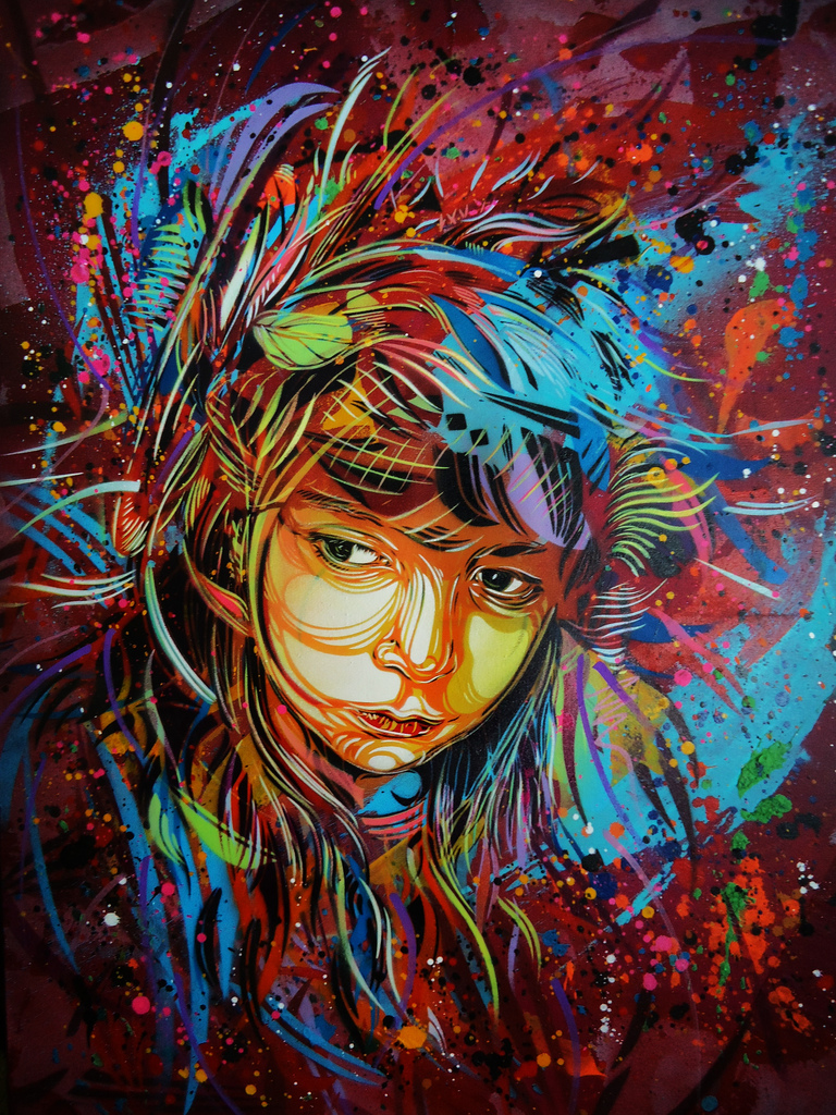 Betweenmirrors Com Reflections In Art Culture Christian Guemy The Graffiti Street Art Of C215