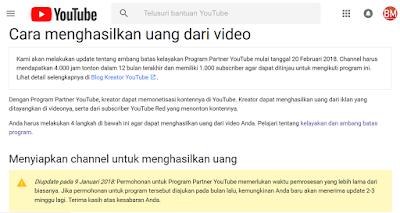 Aturan Monetisasi Youtube 2018 Bikin Baper YouTubers Indonesia