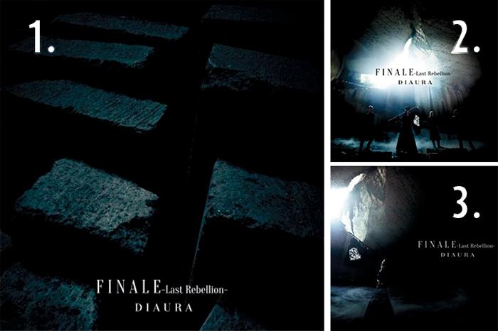 Diaura - FINALE-Last Rebellion- single