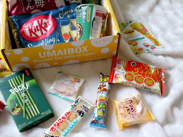 Les produits sucrés de la umaibox