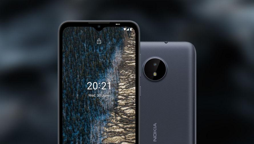 Gri Nokia C20 Plus