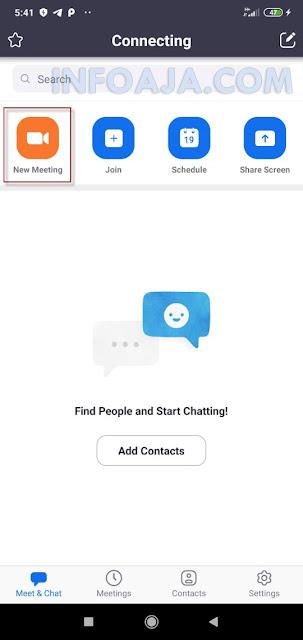 aplikasi zoom untuk meeting online