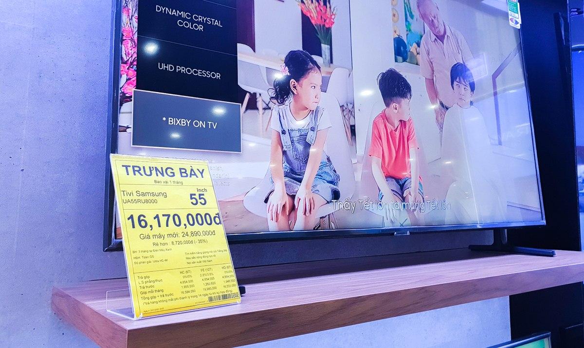 Những lưu ý để tránh mua phải tivi trưng bày