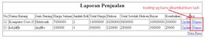 2.1 - Pemrograman Web Php - Agenda Penjualan Sederhana Part6 (Membuat Proses Hapus)