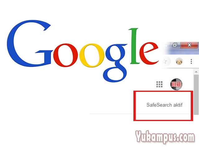 cara mematikan safe search google di hp
