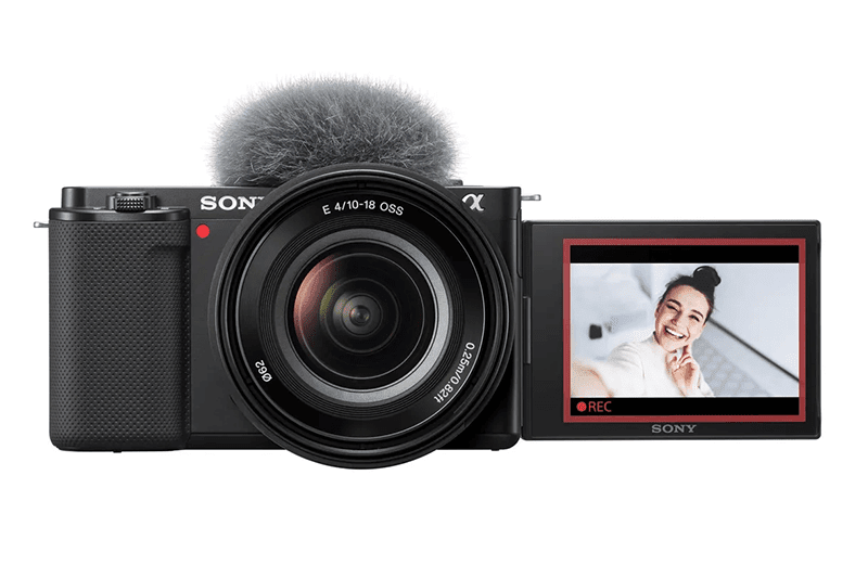 Sony launches ZV-E10 vlogging camera with APS-C interchangeable lens!