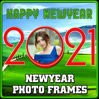 Happy New Year Photo Frame Making App 2021