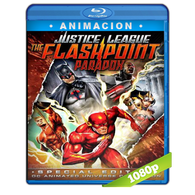 Liga De La Justicia Paradoja Del Tiempo (2013) BRRip Full 1080p Audio Dual Latino-Ingles 5.1